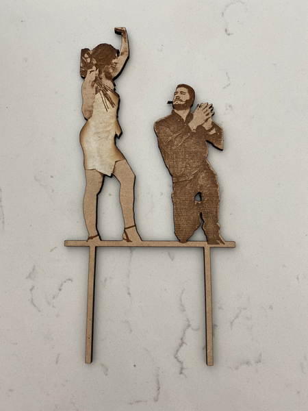 Custom Life Like Cake topper