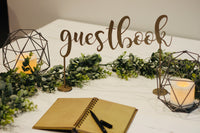 Guestbook Table Sign