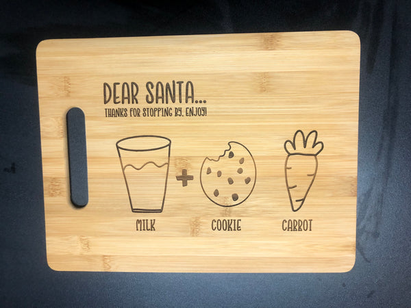 Santa cutting board 🎅🏼