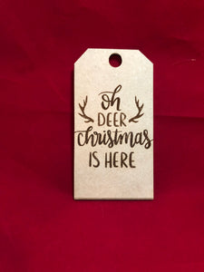 Custom Stocking tag