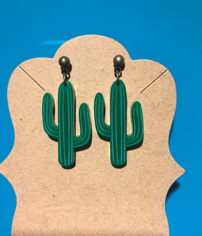Cactus earrings 🌵