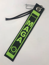 Load image into Gallery viewer, Trump Digital Parachute Tag Lime Green