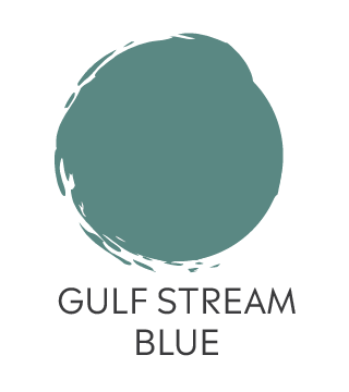 General Finisher Milk Paint Gulf Stream Blue