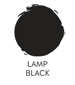 General Finisher Milk Paint Lamp Black