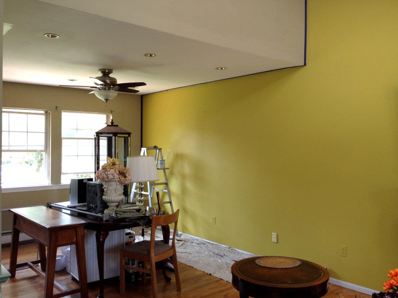 Painting Walls With Matte Finish Chalk Type Paint Suitepieces