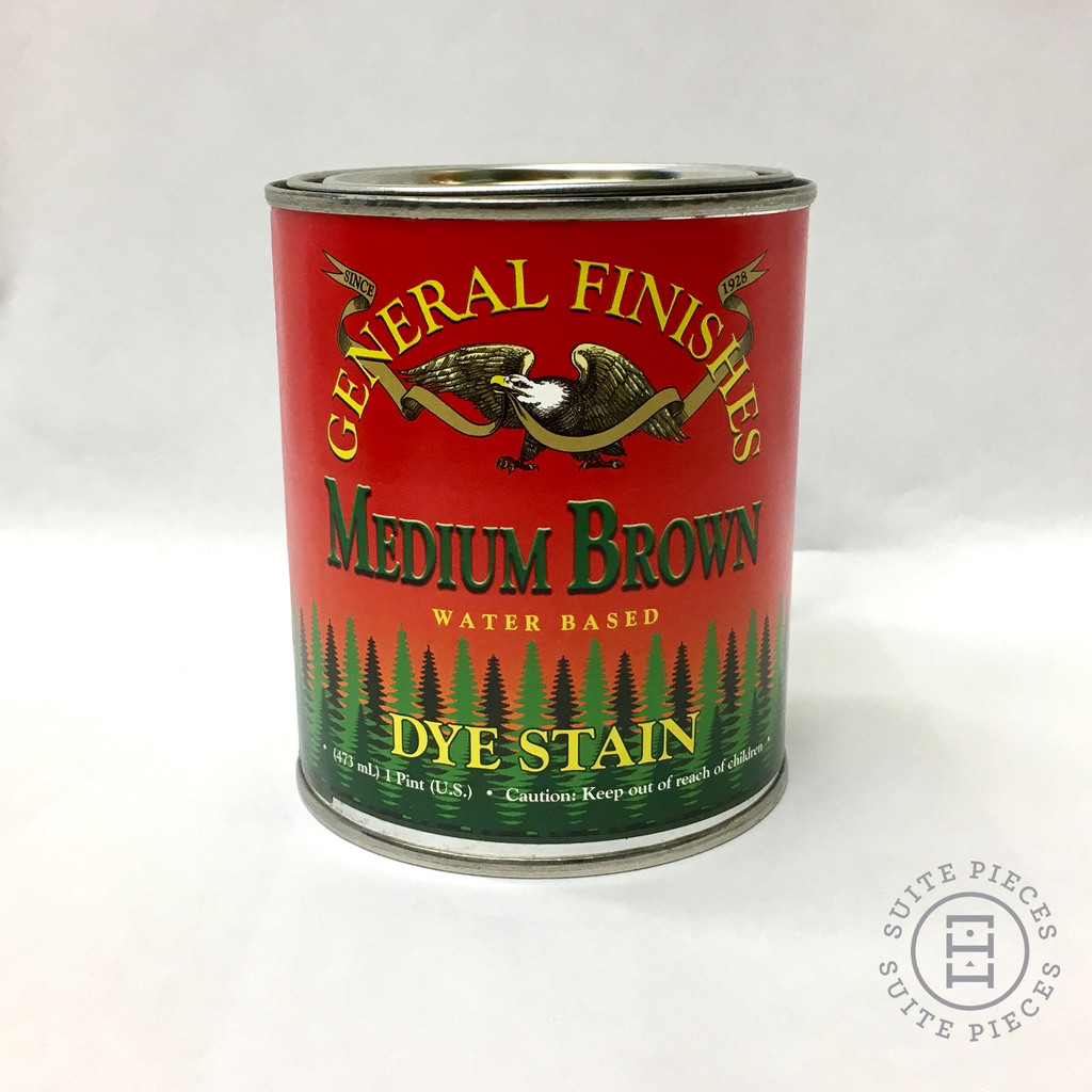 General Finishes Dye Stain Medium Brown Suitepieces
