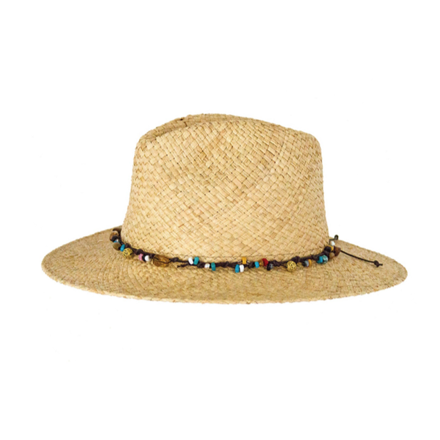 Ocean & Earth - Breeze Raffia Cane Hat