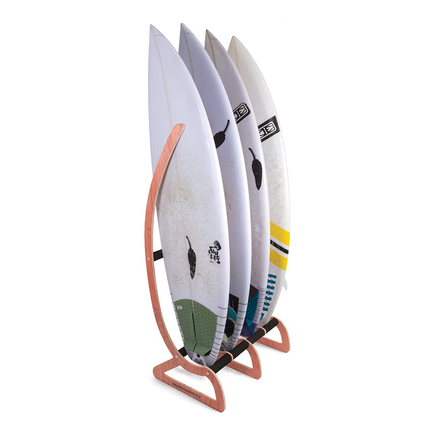 Ocean & Earth - Freestanding Timber Surfboard Display Rack