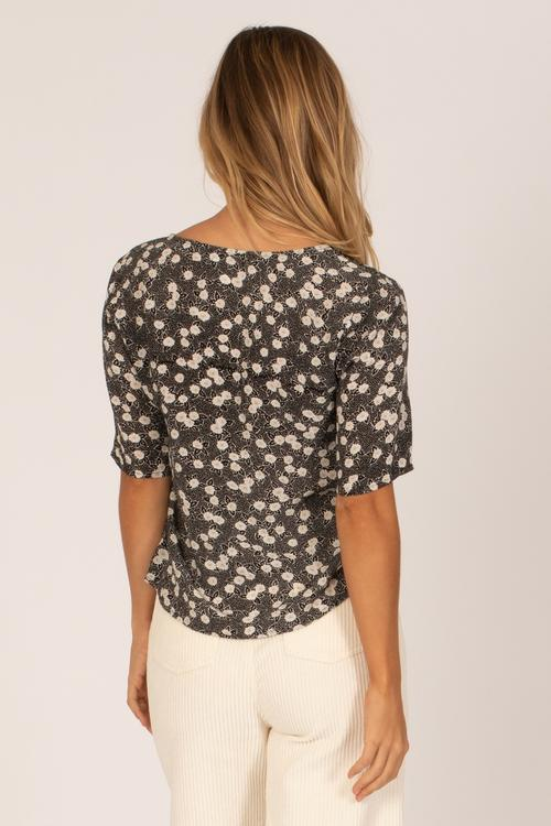 Amuse Society - Allegra Woven Top