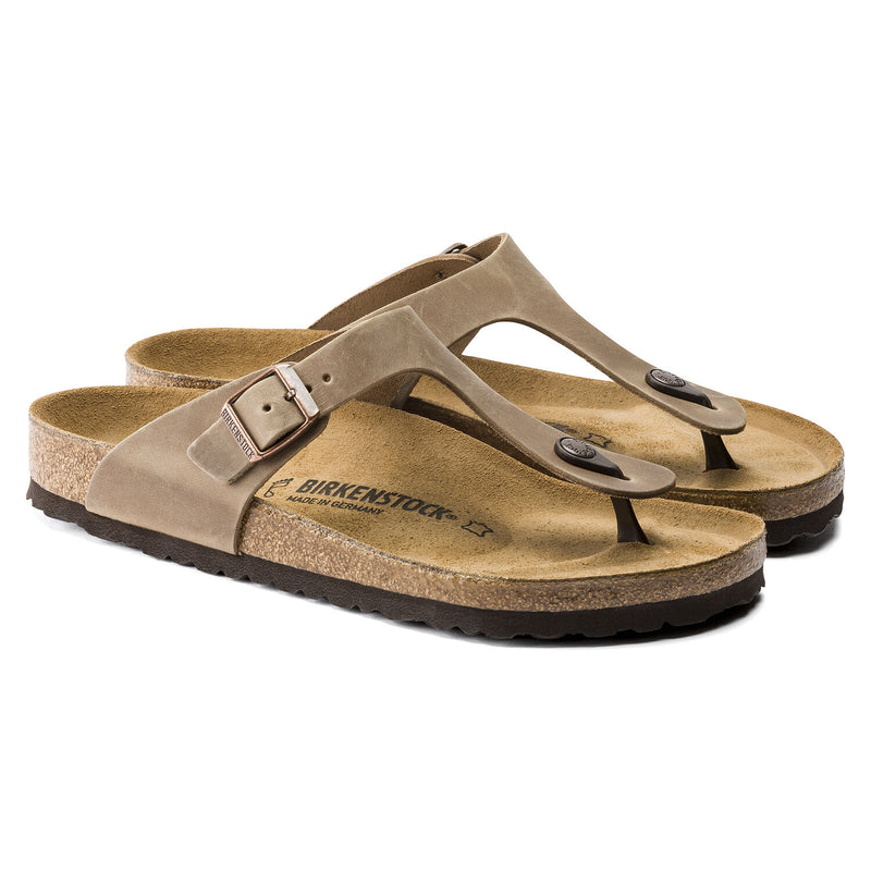 Birkenstock - Gizeh Oiled Leather Thong