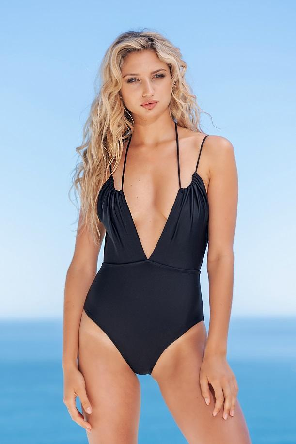 Gabrielle Swimwear - Ruched One Piece