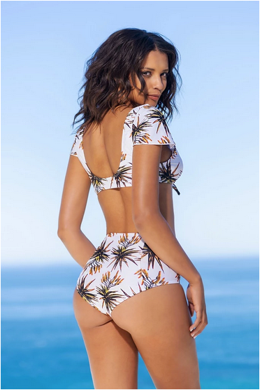 Gabrielle Swimwear - High Waisted Bikini Bottom