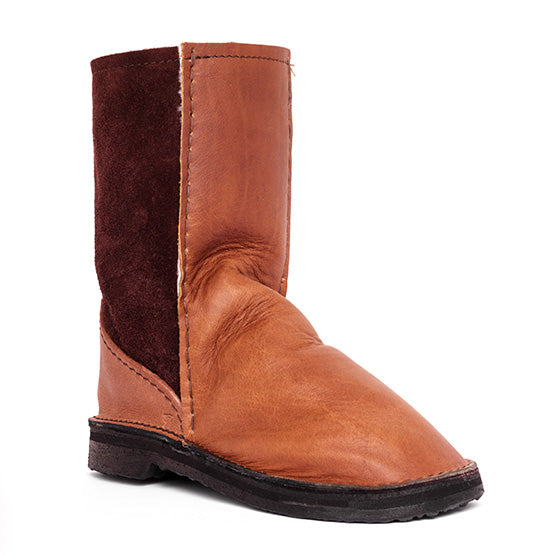 InStep - Leather Front Sheepskin Ugg Boot
