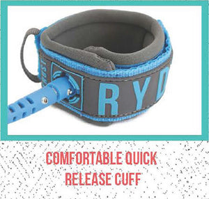 Ryd Brand - SUP 10ft 8mm Coiled Race Leash