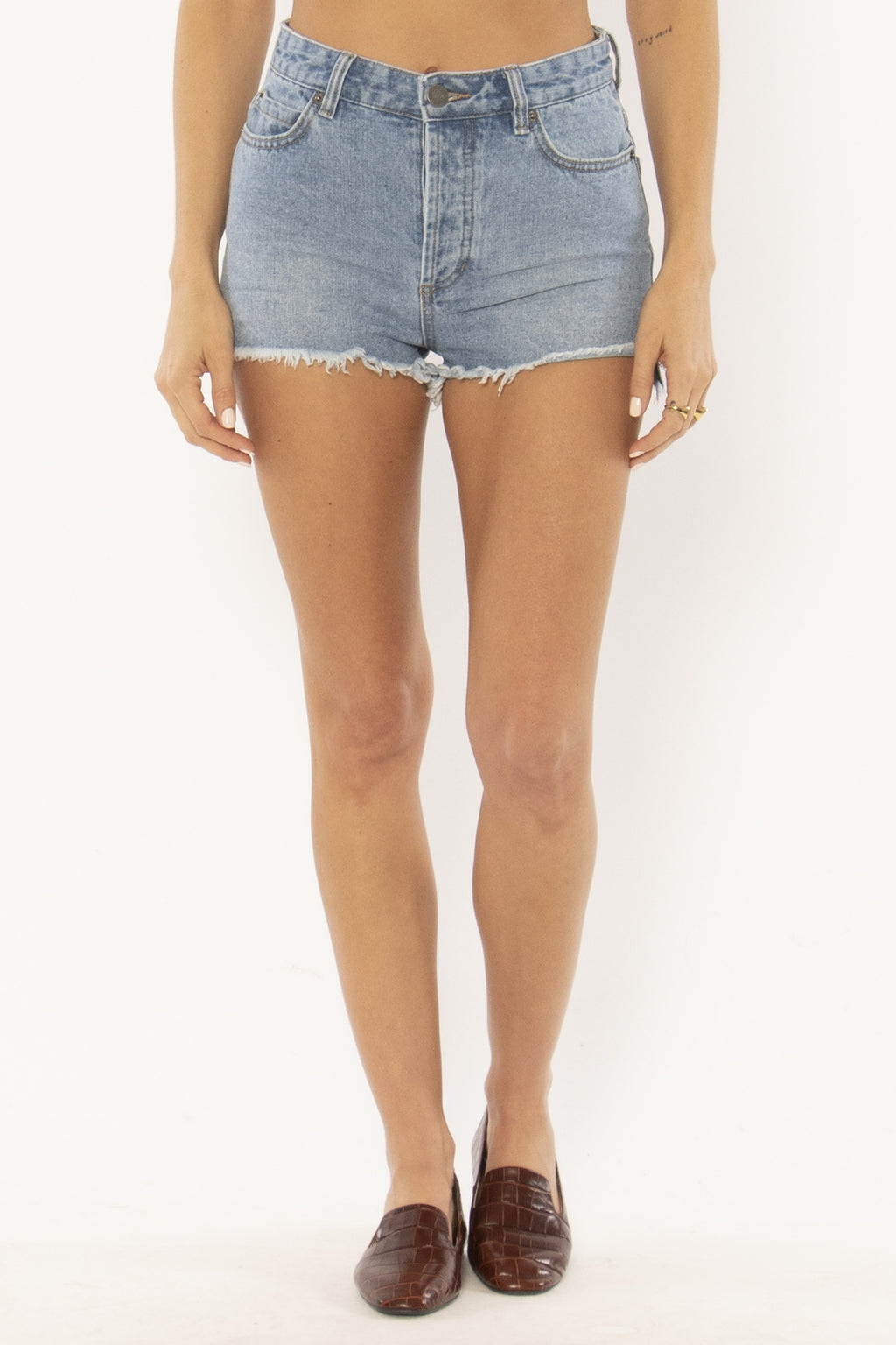 Amuse Society - Shoreline Denim Shorts