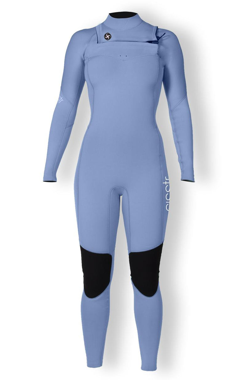 Sisstrevolution - 7 Seas Girls 4/3  Chest Zip Wetsuit