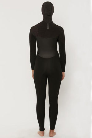 Sisstrevolution - 7 Seas Ladies 5/4 Hooded  Chest Zip Wetsuit