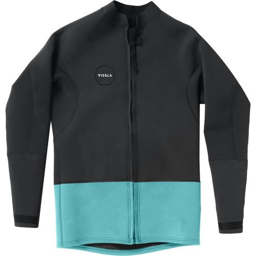 Vissla Mens 2mm Front Zip Neoprene Jacket