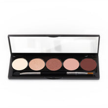 Load image into Gallery viewer, 5 Color Eyeshadow Romance Palette