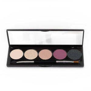 5 Color Eyeshadow Glam Palette