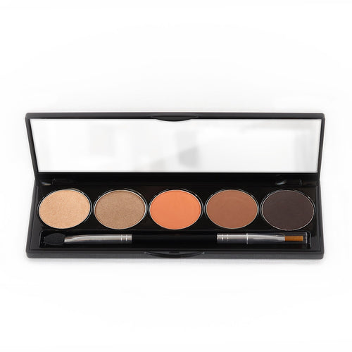 5 Color Eyeshadow Shimmer Palette