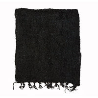 Women's Popcorn Ponchos - Black Swatch - Solid Colors - Spirit of Nepal - Fair Trade Fashion