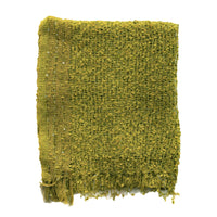 Womens Popcorn Poncho — Fair Trade Fashion from Nepal - - Chartreuse