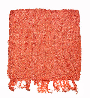 Women's Popcorn Ponchos - Coral Sparkle - Spirit of Nepal - Fair Trade Fashion
