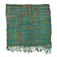 Women's Popcorn Ponchos - Earth Sky - Swatch - Mixed Colors - Spirit of Nepal - Fair Trade Fashion