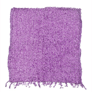 Women's Popcorn Ponchos - Lavender Swatch - Solid Colors - Spirit of Nepal - Fair Trade Fashion