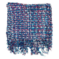 Women's Popcorn Ponchos - Mauve Mix - Mixed Colors - Spirit of Nepal - Fair Trade Fashion