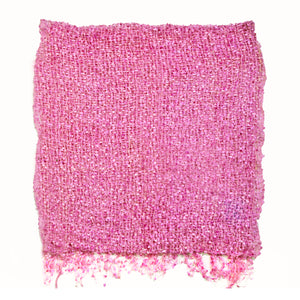 Women's Popcorn Ponchos - Pink Swatch - Solid Colors - Spirit of Nepal - Fair Trade Fashion