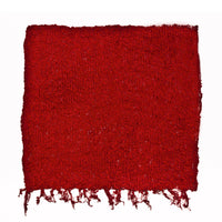 Women's Popcorn Ponchos - Scarlet Swatch - Solid Colors - Spirit of Nepal - Fair Trade Fashion