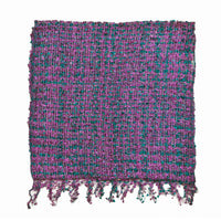 Women's Popcorn Ponchos - Thistle Sparkle Swatch - Spirit of Nepal - Fair Trade Fashion Purple