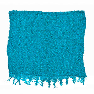Women's Popcorn Ponchos - Solid Colors - Turquoise - Spirit of Nepal - Fair Trade Fashion