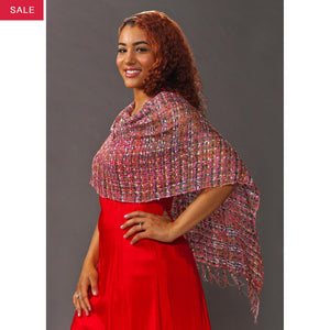 Women's Popcorn Ponchos - Confetti Sparkle - Spirit of Nepal - Fair Trade Fashion