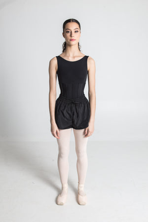 Bosaddo by Jurgita Dronina collection | Heat retaining black shorts