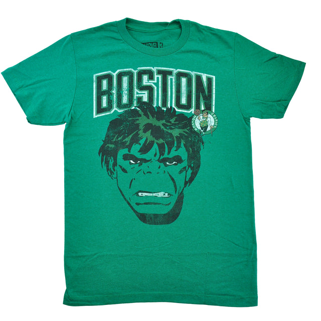 Mean Green Hulk Boston Celtics