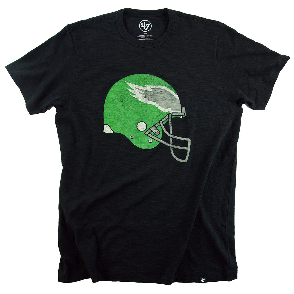Eagles Legacy Retro Helmet Scrum Tee