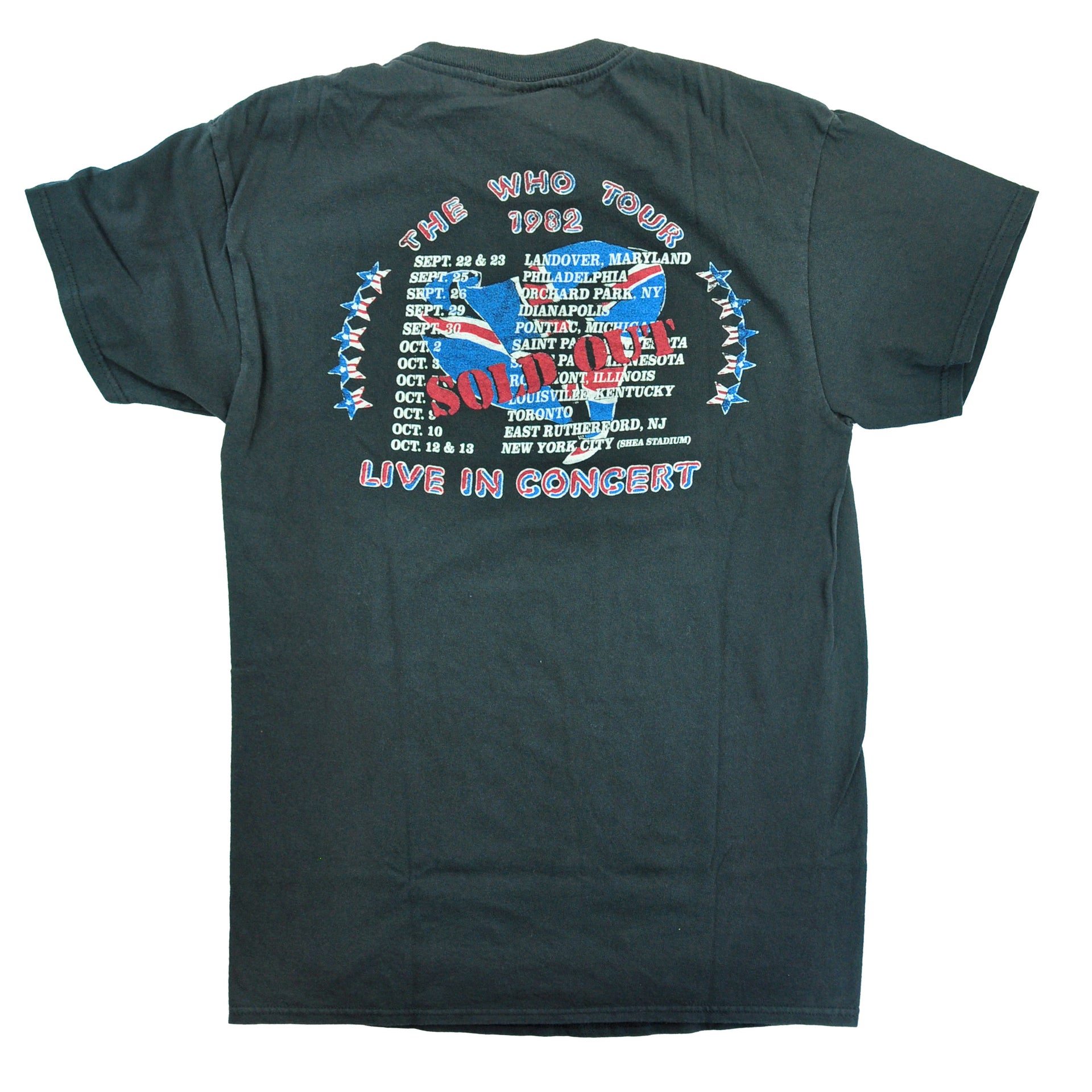 The Who Live in Concert JF Mens Tee