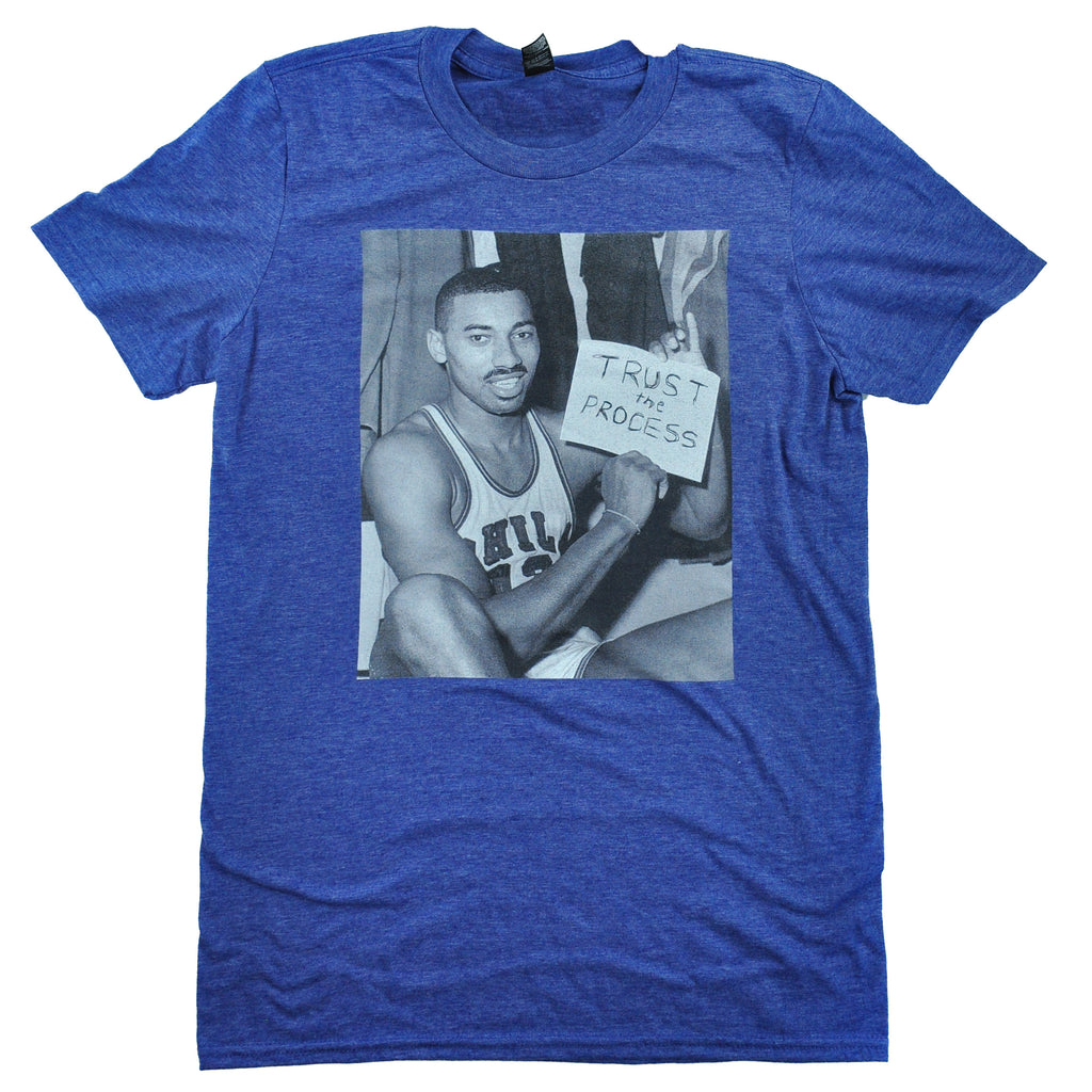 Wilt Chamberlain Trusts the Process Shirt