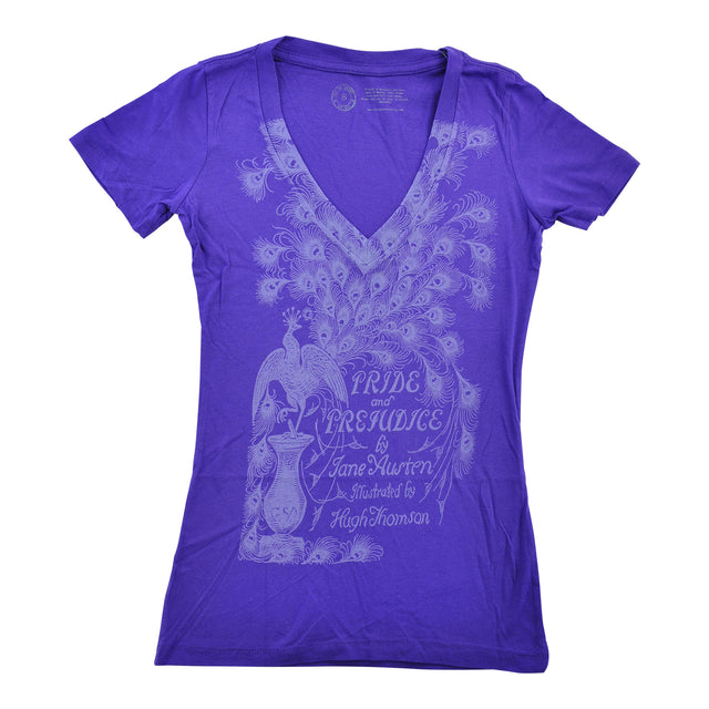 Pride and Prejudice Womens V Neck