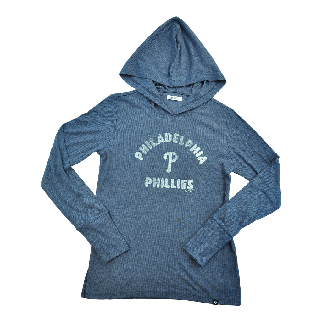 Phillies Campbell Rib Hoodie Ladies