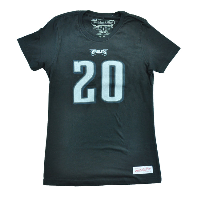 Brian Dawkins Name and Number Tee Ladies