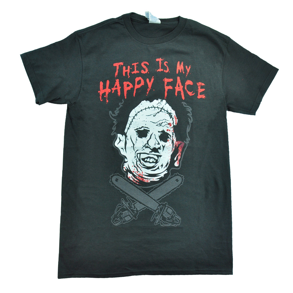 Leatherface Happy Face
