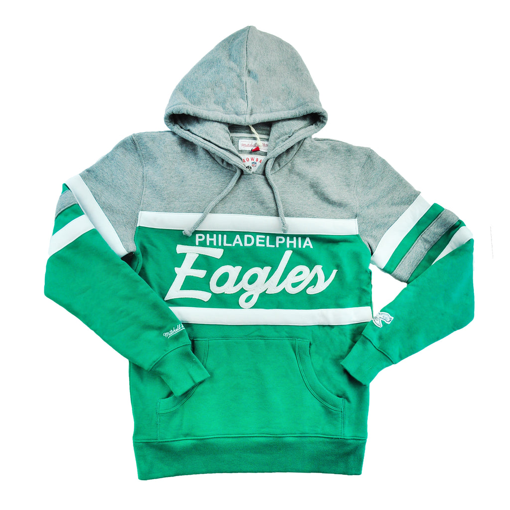 Eagles Head Coach Hoodie Gray