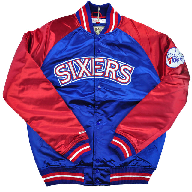 Sixers Tough Season Satin Jacket