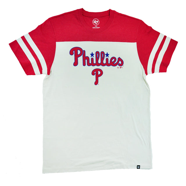 Phillies Endgame Club Tricolored Tee