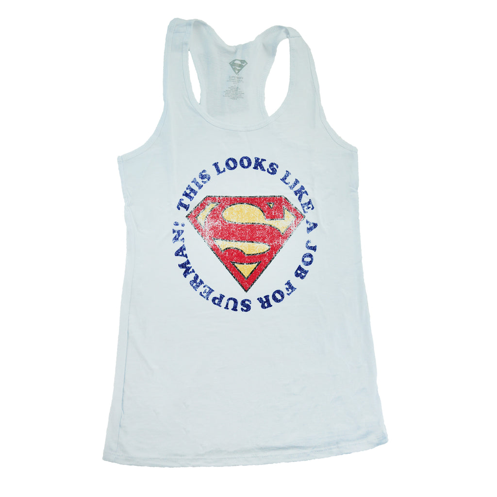 Job for Superman Ladies Tank