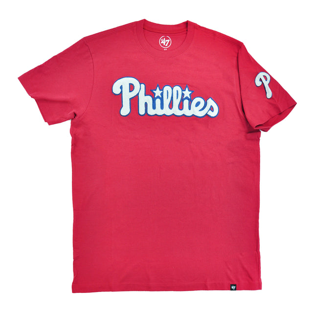 Phillies Rescue Red Fieldhouse Tee